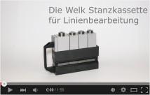 Video-Stanzkasette